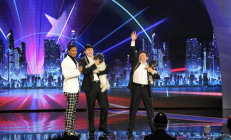 Saying Goodbye on America's Got Talent