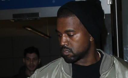 Kanye West Escorts Lamar Odom to His Seat at Yeezy Season 3 Show