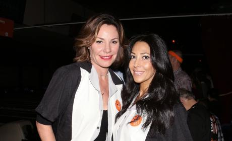 Luann de Lesseps & Carla Facciolo: 29th Annual All-Star Second Stage Theatre Bowling Classic