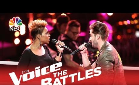 Cassandra Robertson vs. Viktor Kiraly (The Voice Battle Round)