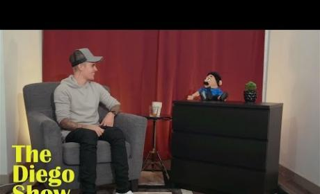 Justin Bieber Talks Marriage with a Puppet