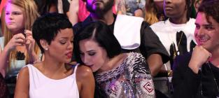 MTV VMA Caption Contest: Katy and Rihanna ...