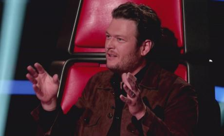Blake Shelton on The Voice