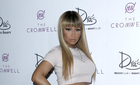 Nicki Minaj Performs at Drai's Las Vegas
