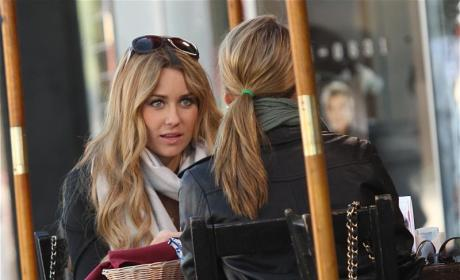 Lauren Conrad Films with Lo Bosworth