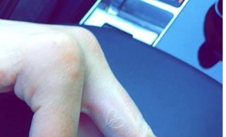 Kendall Jenner & Hailey Baldwin Get Matching Broken Heart Tattoos: Were They Burned By the Biebs?!