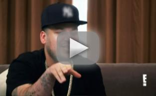 Rob Kardashian GOES OFF on His Sisters When Confronted About Proposal to Blac Chyna: WATCH!