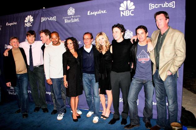 Scrubs Cast Photo