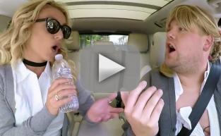 Britney Spears Sings Carpool Karaoke!