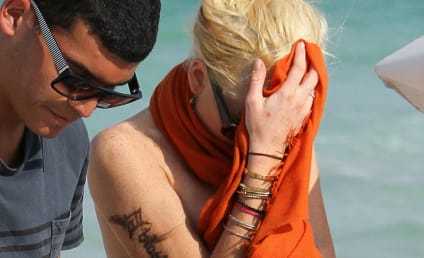 Lindsay Lohan Gets Really Wet in Miami