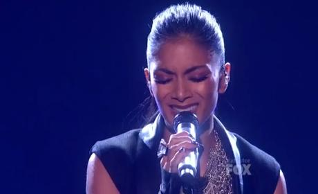Nicole Scherzinger Debuts New Single on The X Factor