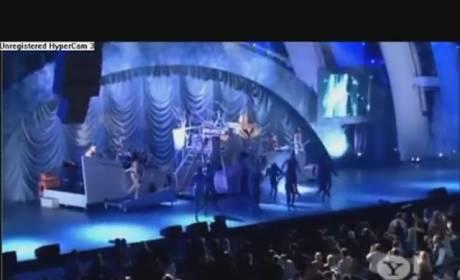 Lady Gaga Honors, Sort of Embarrasses Bill Clinton in Concert