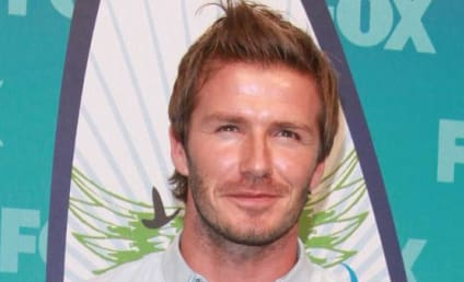 David Beckham Tests Ankle, Evades Celebrity News Peeps