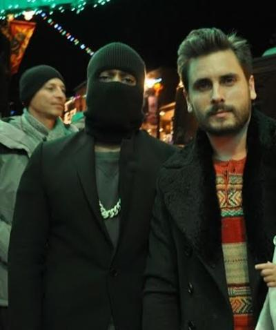 Kanye West and Scott Disick Photo