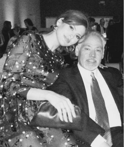 Eva Mendes and brother Carlos