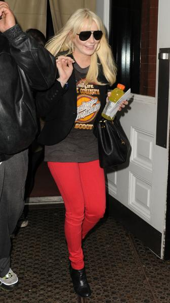 Blonde Lohan