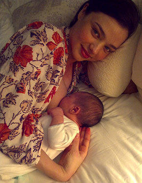 Miranda Kerr, Son