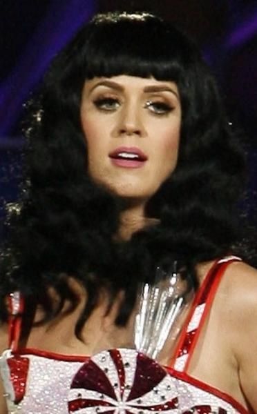 Katy Perry, Black Hair