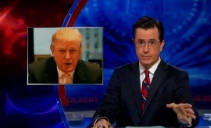 Stephen Colbert Offers Donald Trump $1 Million in Exchange for Ball Dipping