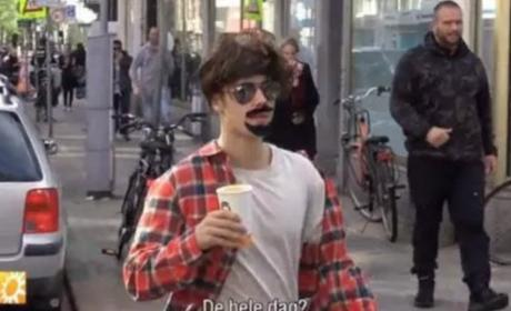 Justin Bieber Dons Disguise In Amsterdam, Attracts Attention