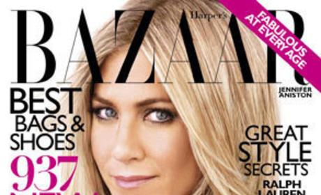 Jennifer Aniston Harper's Bazaar Cover