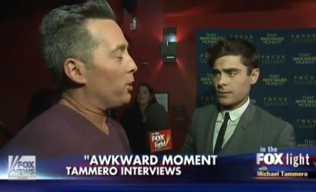 Zac Efron Gets Confused by Profound Reporter Question, Throws Some Shade