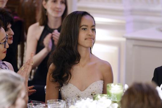 Malia Obama Image