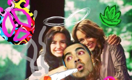 Demi Lovato Pot Photo