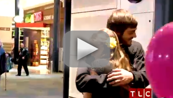 Jill Duggar and Derick Dillard: HUGGING!
