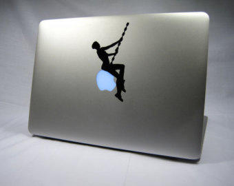 Miley Cyrus Wrecking Ball Laptop Decal