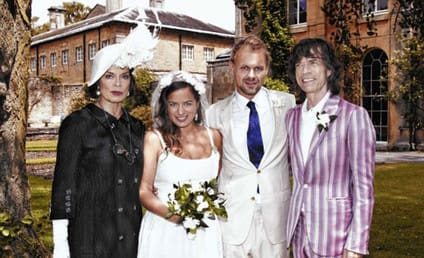 Jade Jagger and Adrian Fillary: Married!