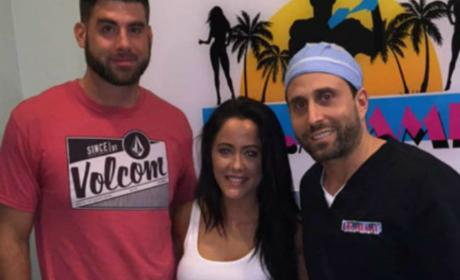Jenelle at the Plastic Surgeon's