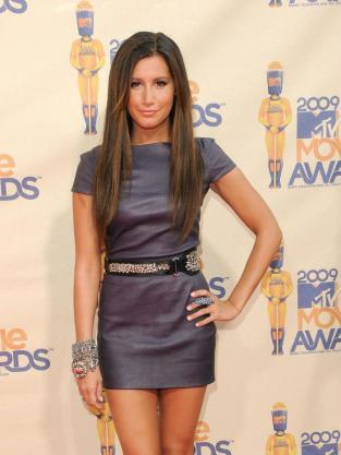 Ashley Tisdale on Red Carpet