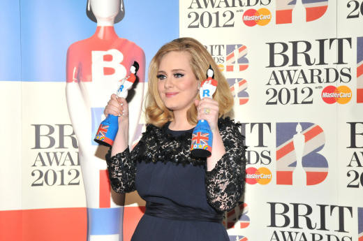 Adele as a Winner