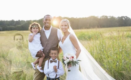 Bride Honors Late Son with Incredible Wedding Photo