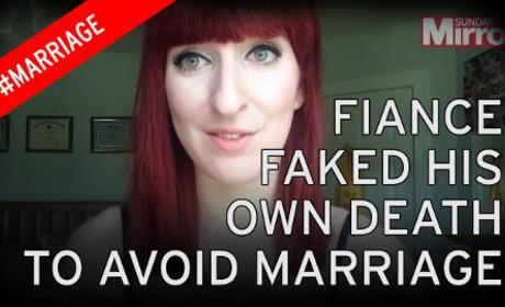 Fiance Fakes Death to Get Out of Wedding, Feels Really Bad About It