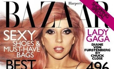 Lady Gaga Bazaar Cover