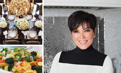 Kris Jenner Announces Cookbook, Pretends She Can Cook