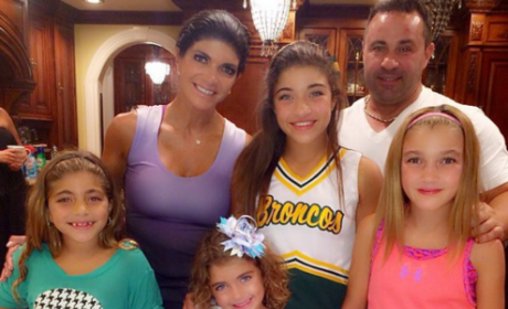 Teresa, Joe Giudice, Daughters