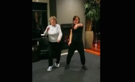 "Coolest Grandmother Ever Does the ""Whip Nae Nae"""