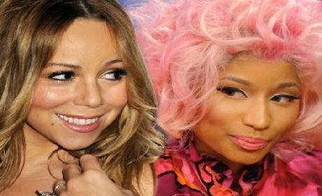 Nicki Minaj: Jealous of Mariah Carey?!?