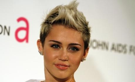 Miley Cyrus Party Picture