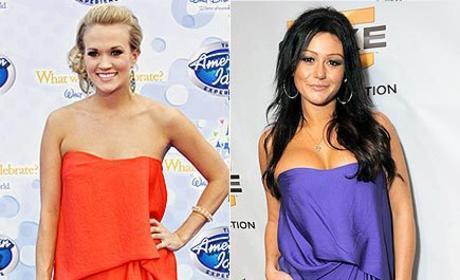 Fashion Face-Off: Carrie Underwood vs. J-WOWW