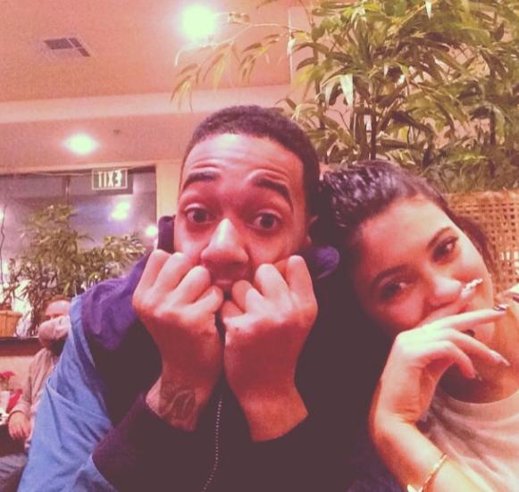 Kylie Jenner and Lil Za