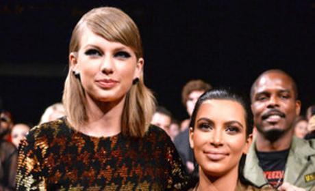 Kim Kardashian: I Love Taylor Swift!