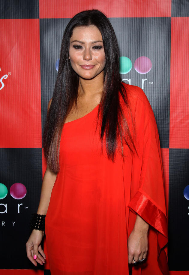"Jenni ""JWoww"" Farley Birthday photo"