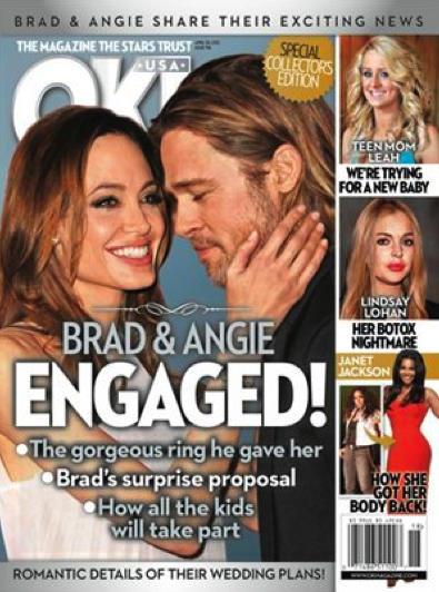Brangelina Engaged!