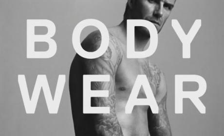 David Beckham Super Bowl Ad: Shirtless For H&M!