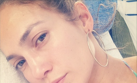 Jennifer Lopez, Makeup Free