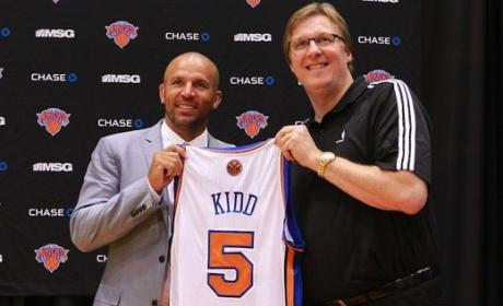 Jason Kidd Arrested For DUI
